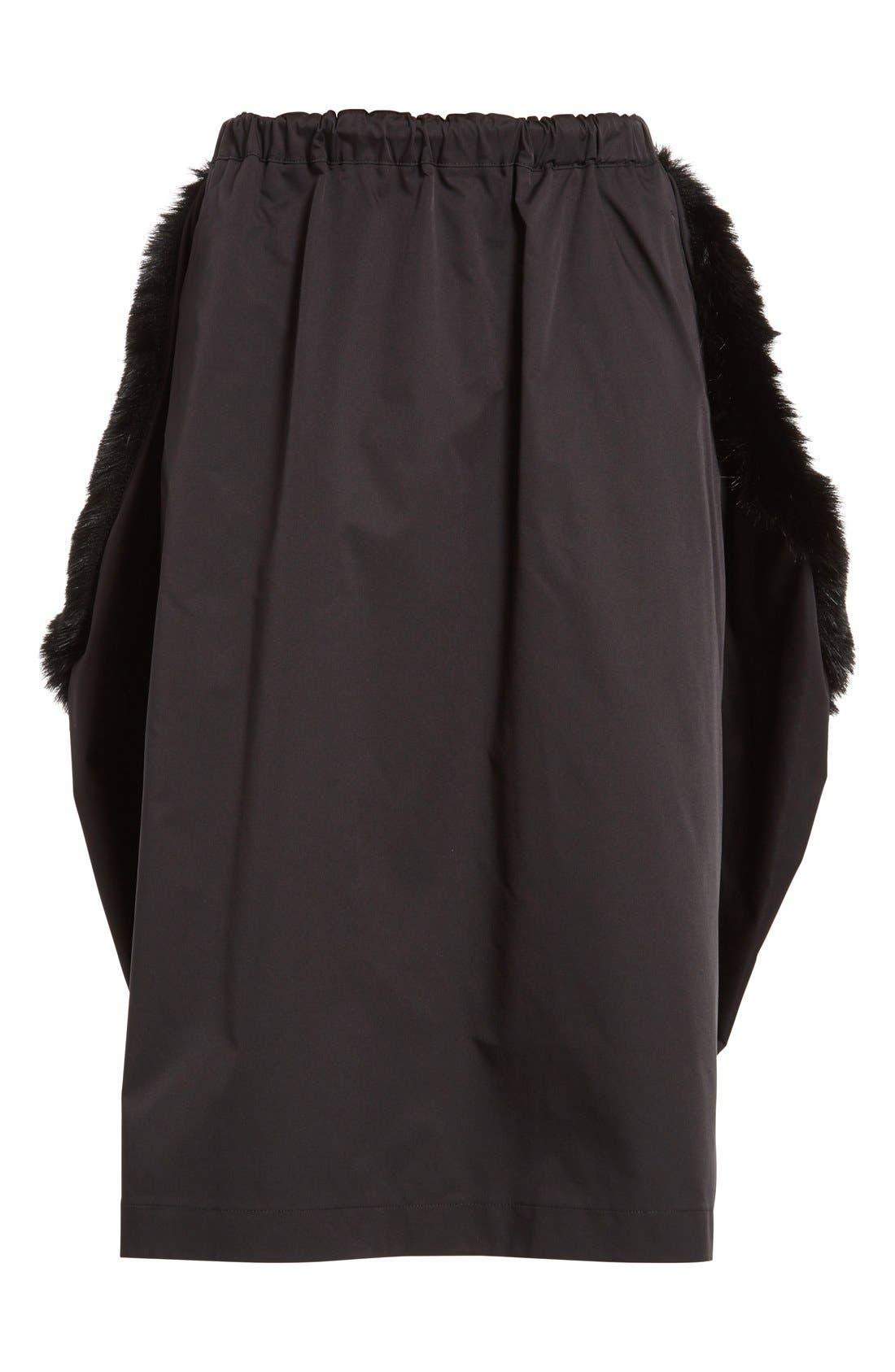 Alternate Image 4  - Comme des Garçons Stretch Twill Midi Skirt
