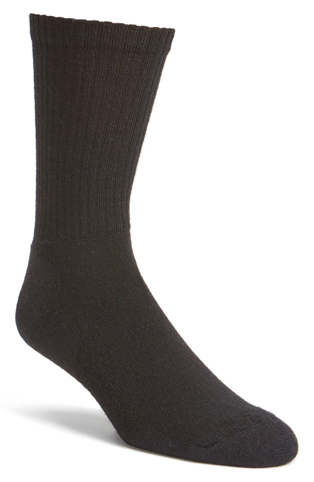 Alternate Image 1 Selected - Smartwool Heathered Crew Socks (Men)