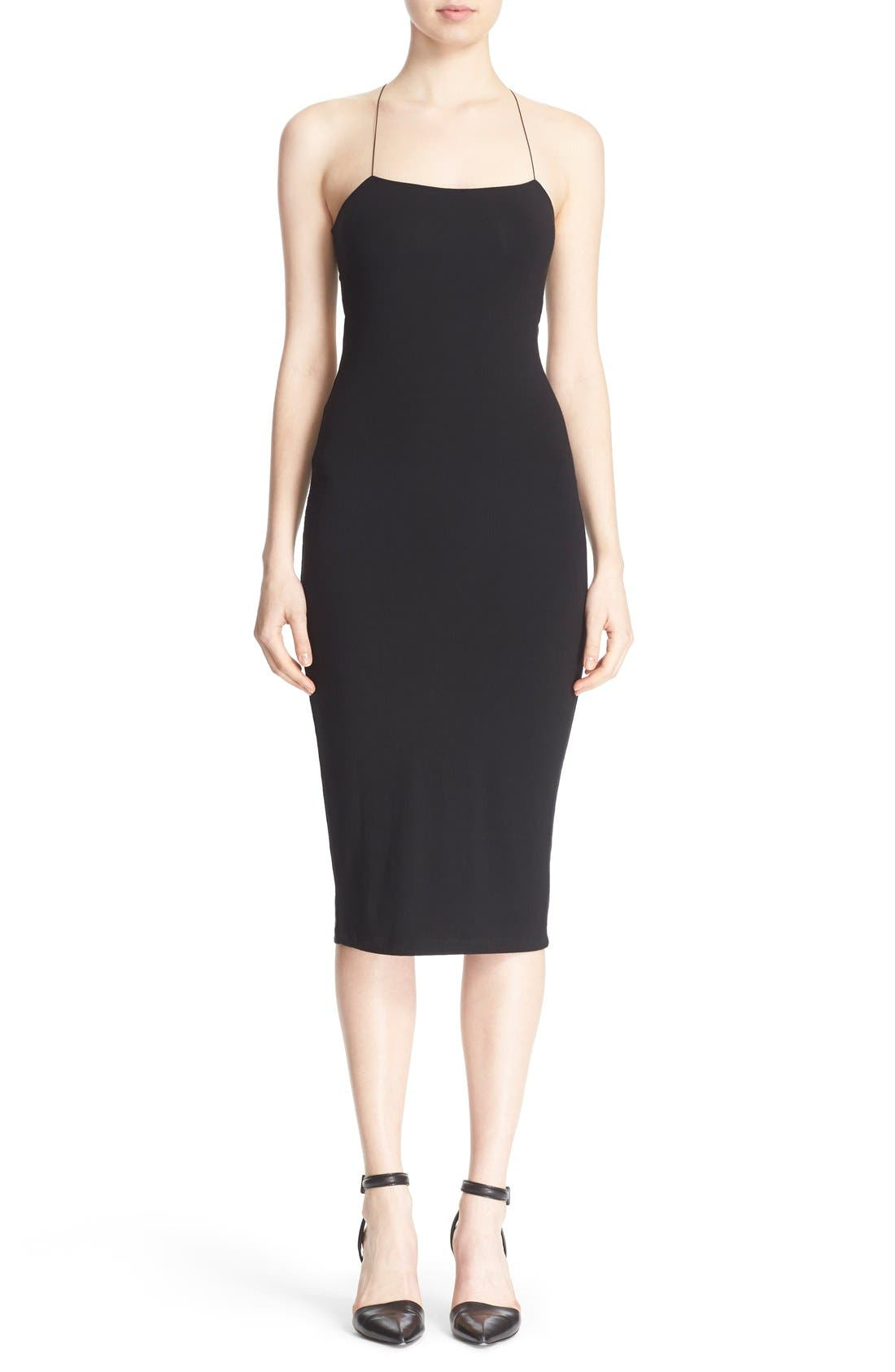 T by Alexander Wang Camisole Body-Con Dress