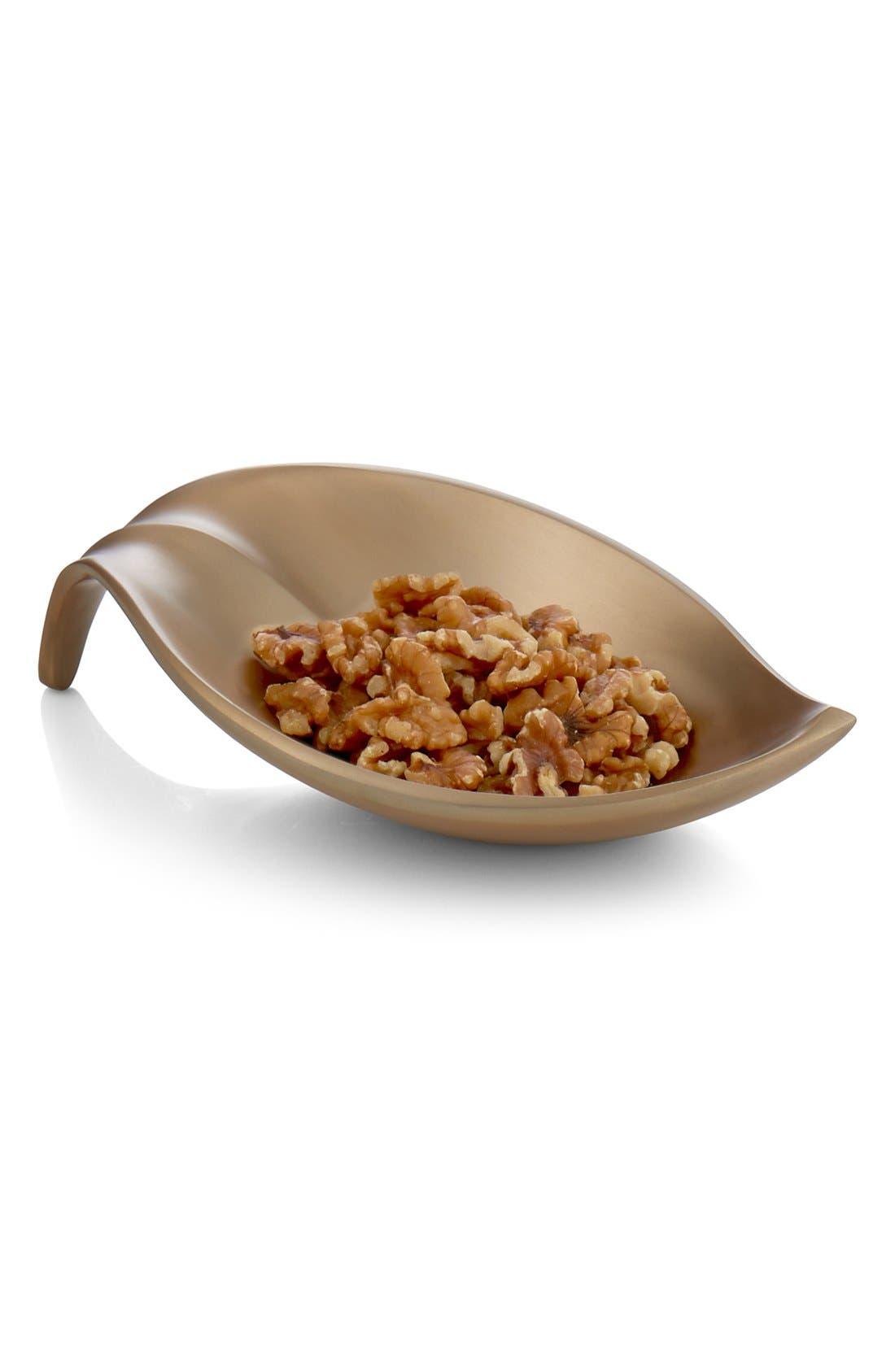 Alternate Image 1 Selected - Nambé 'Leaf' Nut Bowl