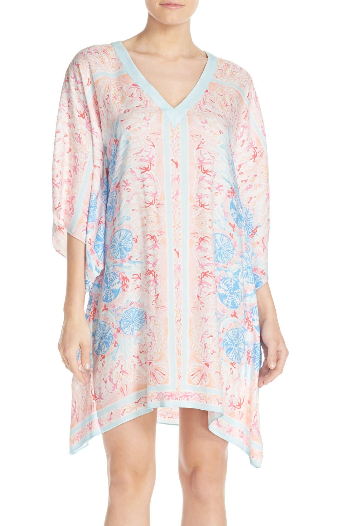 Main Image - Lilly Pulitzer® Print Woven Caftan