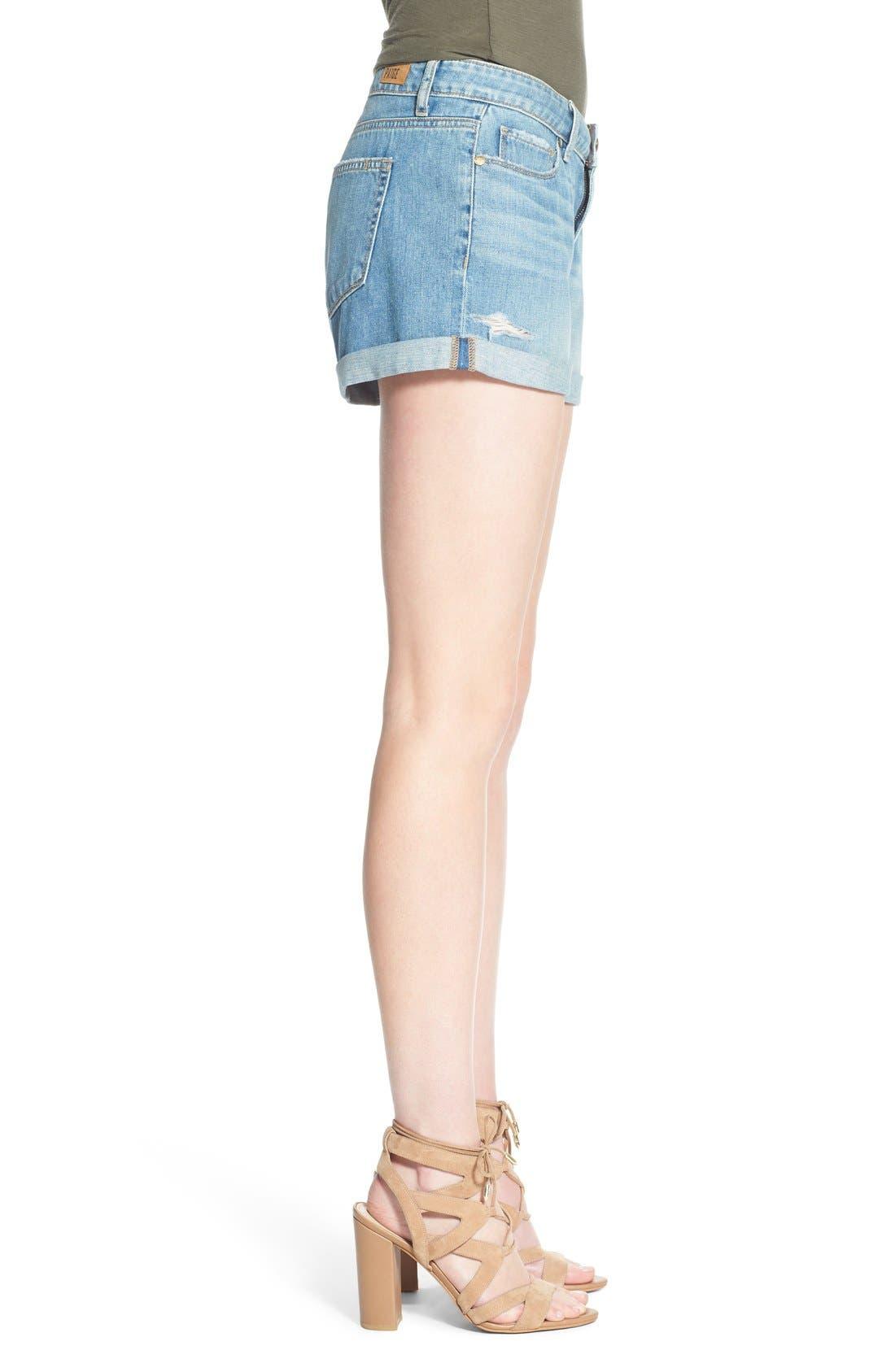 Alternate Image 3  - PAIGE 'Jimmy Jimmy' Denim Shorts (Annora)