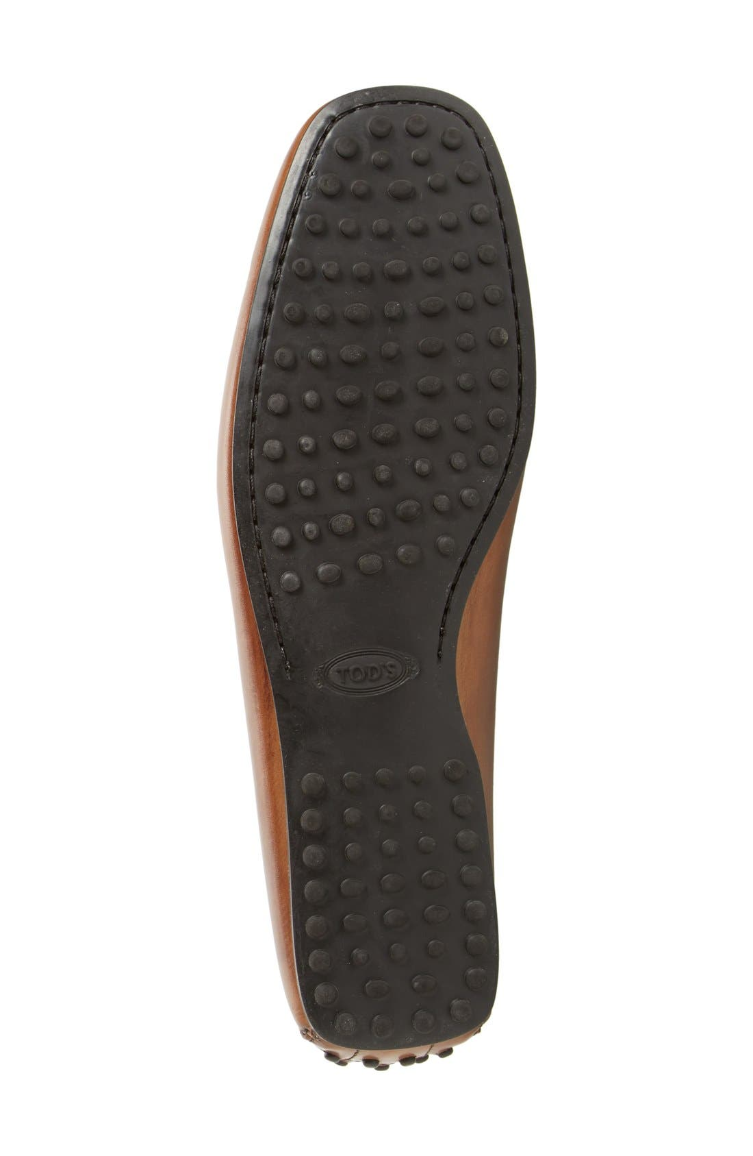 Alternate Image 4  - Tod's 'City Gommini' Tie Front Driving Moccasin (Men)