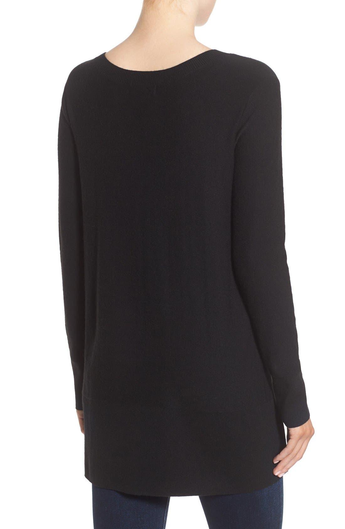 Alternate Image 2  - Trouvé Side Slit Sweater