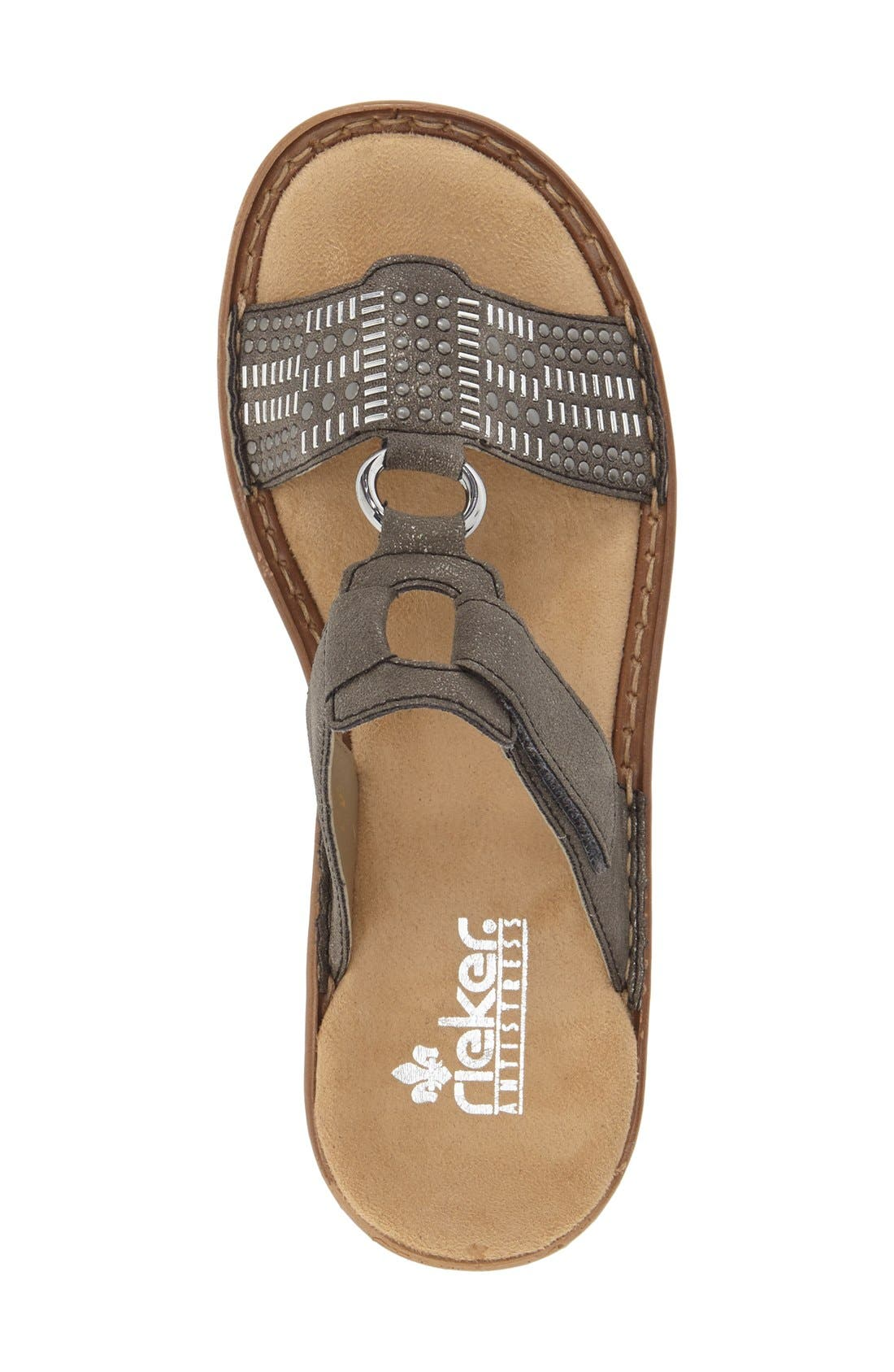 Alternate Image 3  - Rieker Antistress 'Regina' Slide Sandal (Women)