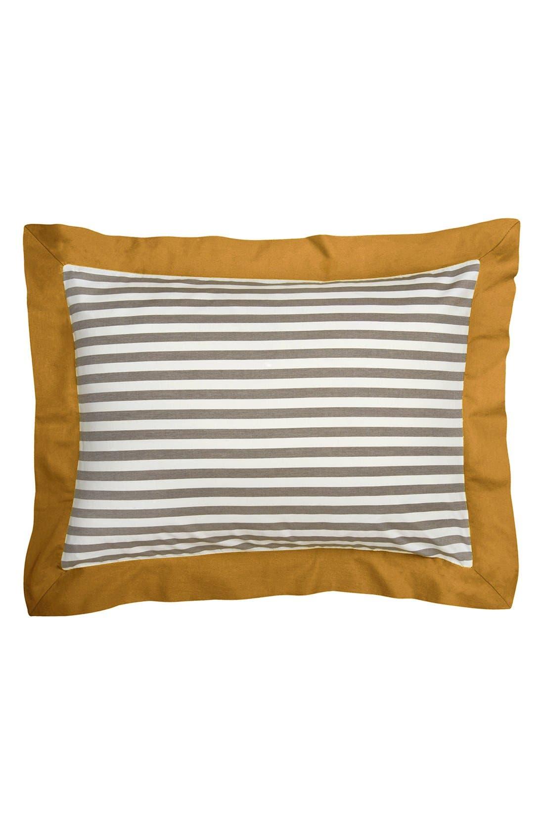 'Draper' Stripe Shams,                         Main,                         color, Yellow/ Multi