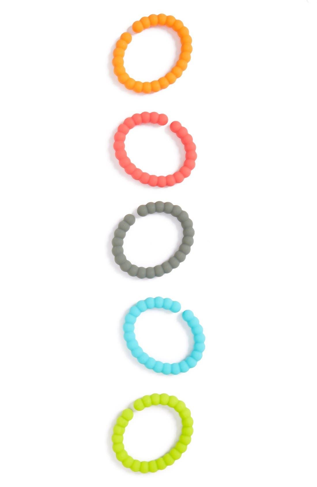 'CB GO' Silicone Chew Links,                         Main,                         color, Multi