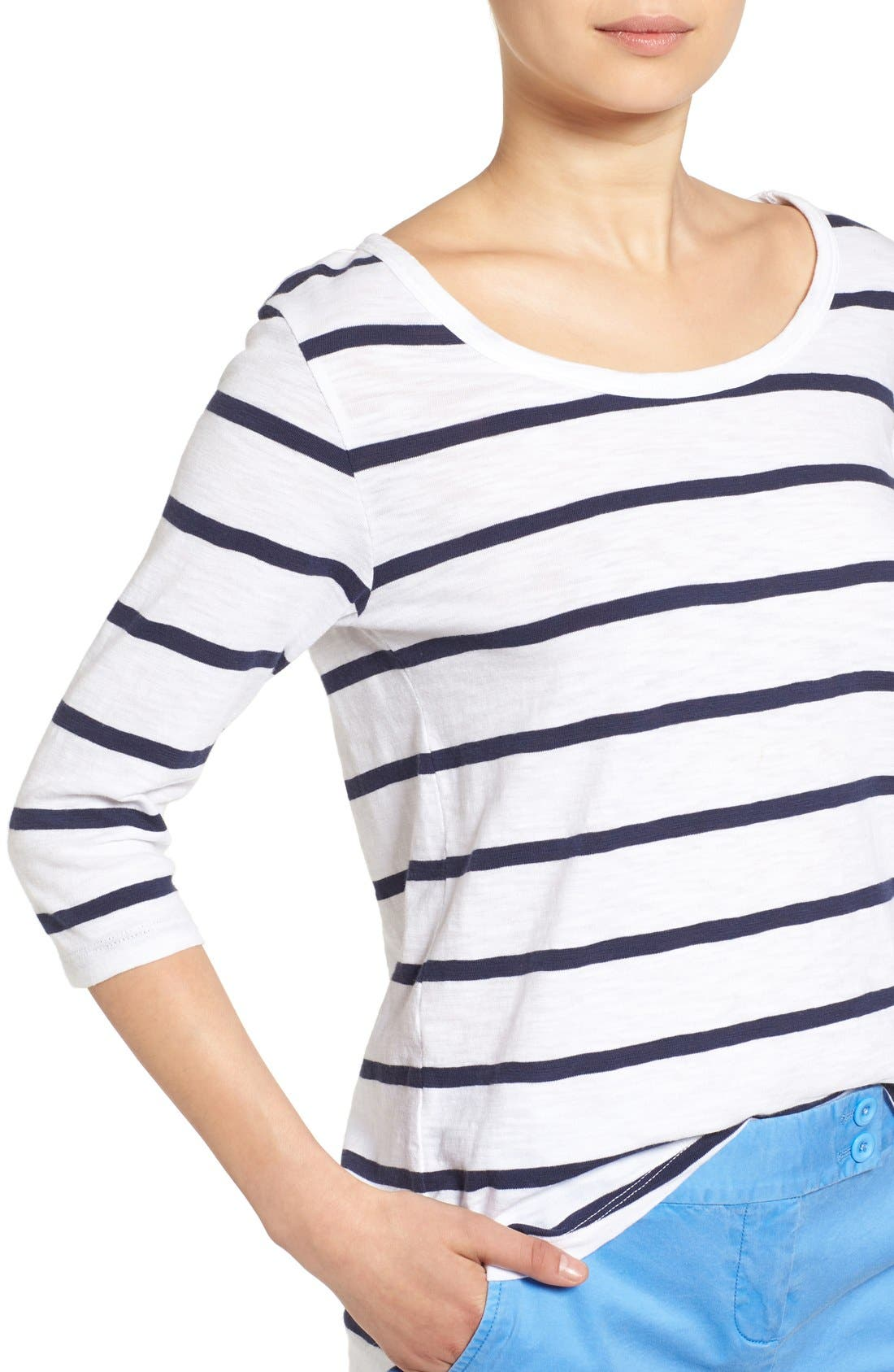 Alternate Image 4  - Vineyard Vines 'Anguilla' Stripe Tee