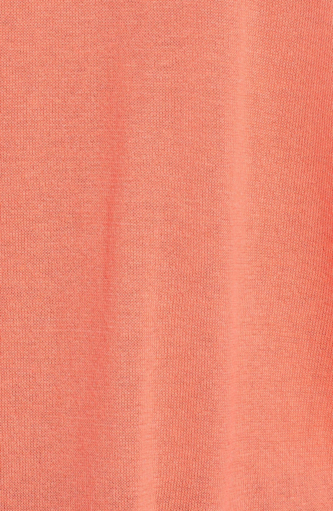 'Maiden' Surplice Front Top,                             Alternate thumbnail 5, color,                             Pacific Coral
