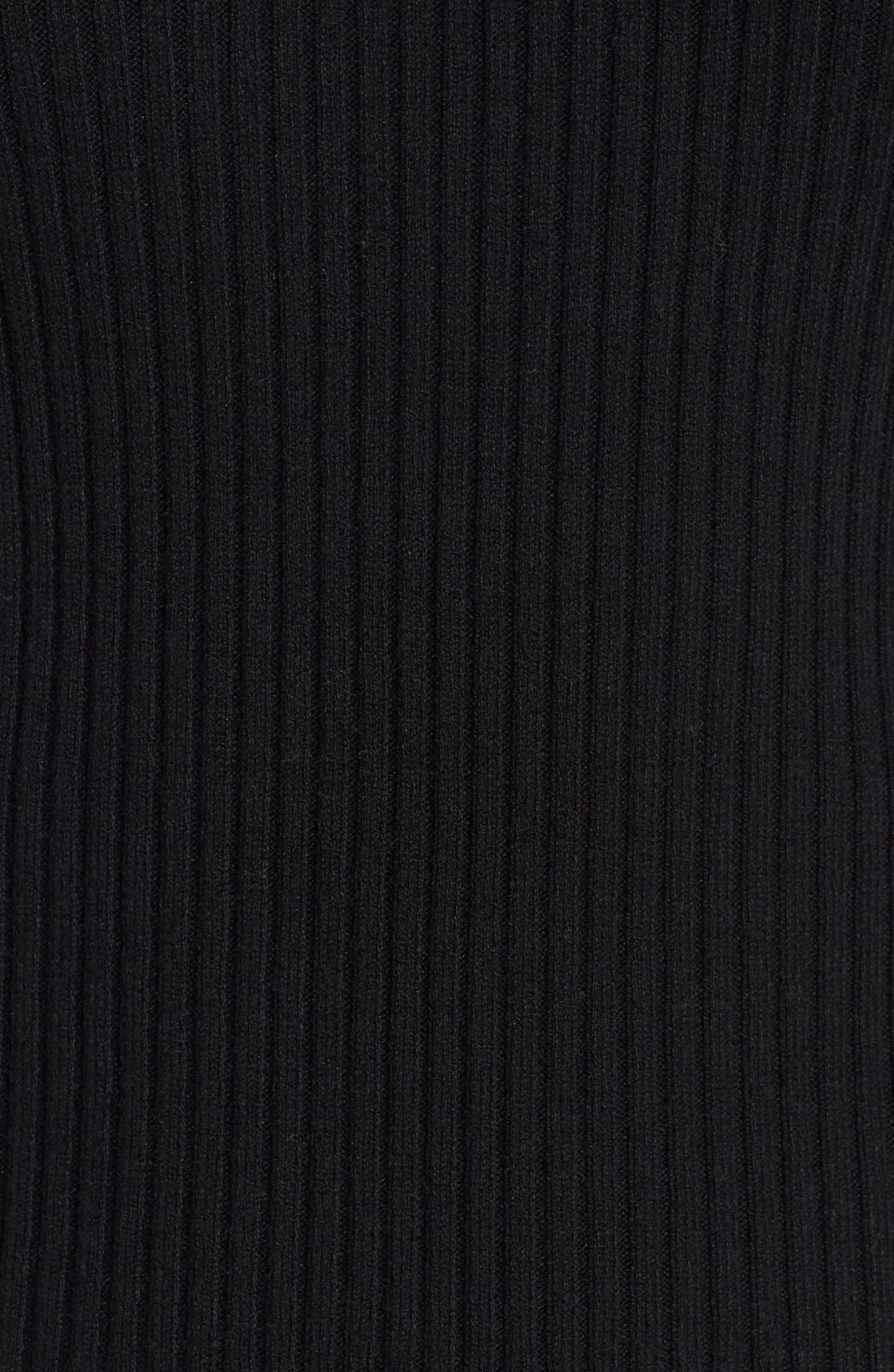 Alternate Image 5  - BP. Short Sleeve Rib Knit Pullover