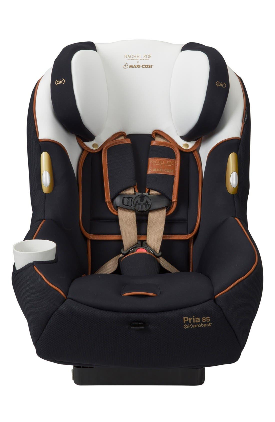 x Rachel Zoe Pria<sup>™</sup> 85 - Special Edition Car Seat,                         Main,                         color, Black/ White
