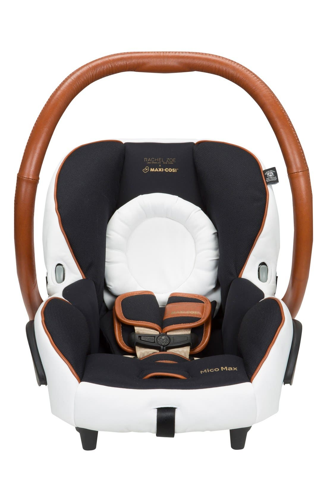 x Rachel Zoe Mico Max 30 - Special Edition Infant Car Seat,                             Alternate thumbnail 5, color,                             Black/ White