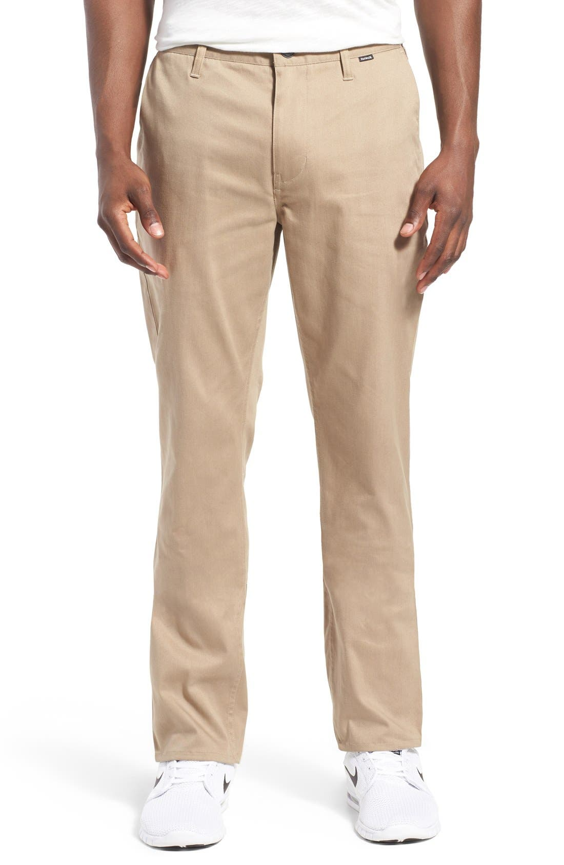 Dri-FIT Chinos,                             Main thumbnail 1, color,                             Beige