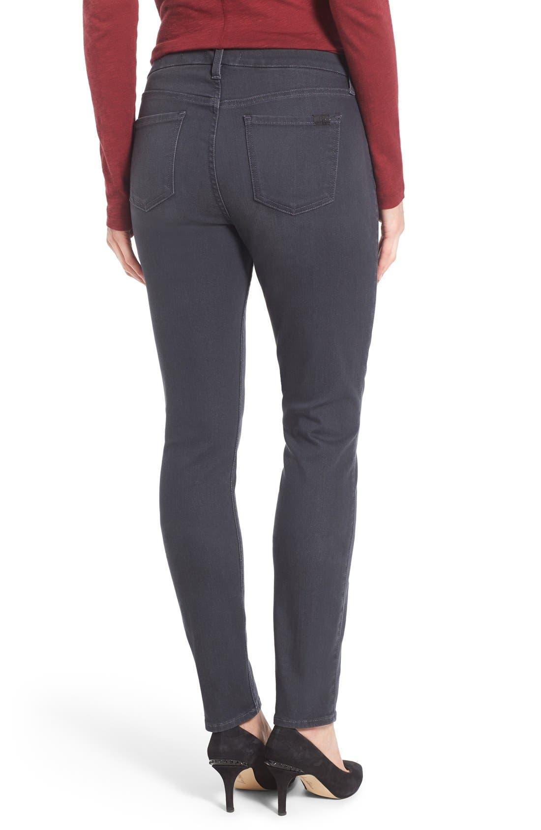 Stretch Skinny Jeans,                             Alternate thumbnail 2, color,                             Vapor Grey