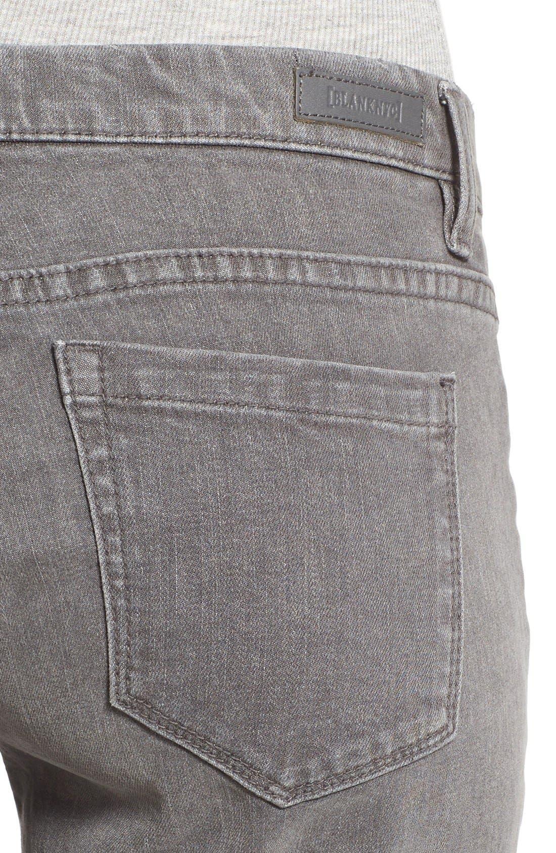 Alternate Image 4  - BLANKNYC Skinny Jeans (Fifty Shades)