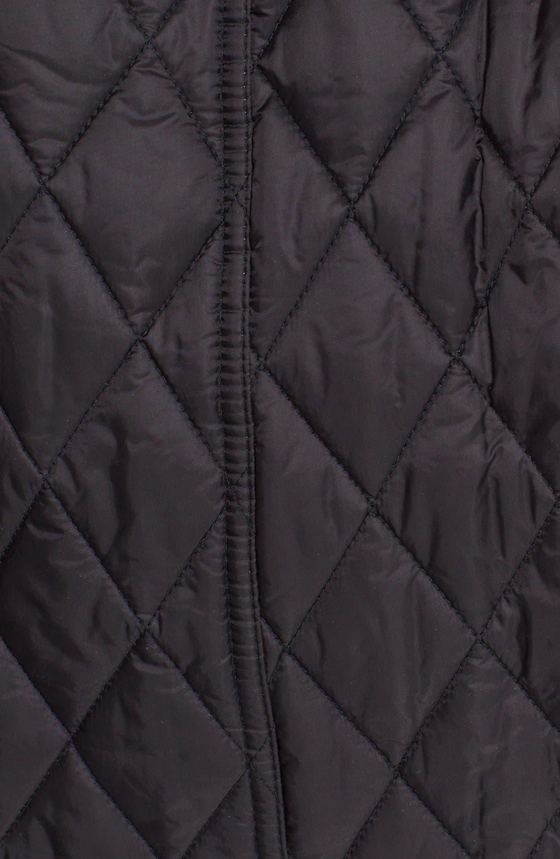 Alternate Image 3  - Burberry Finsbridge Belted Quilted Jacket