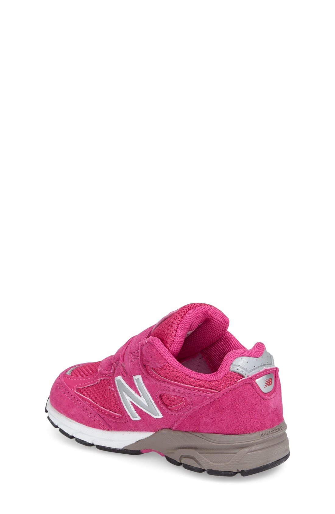 '990' Sneaker,                             Alternate thumbnail 2, color,                             Pink
