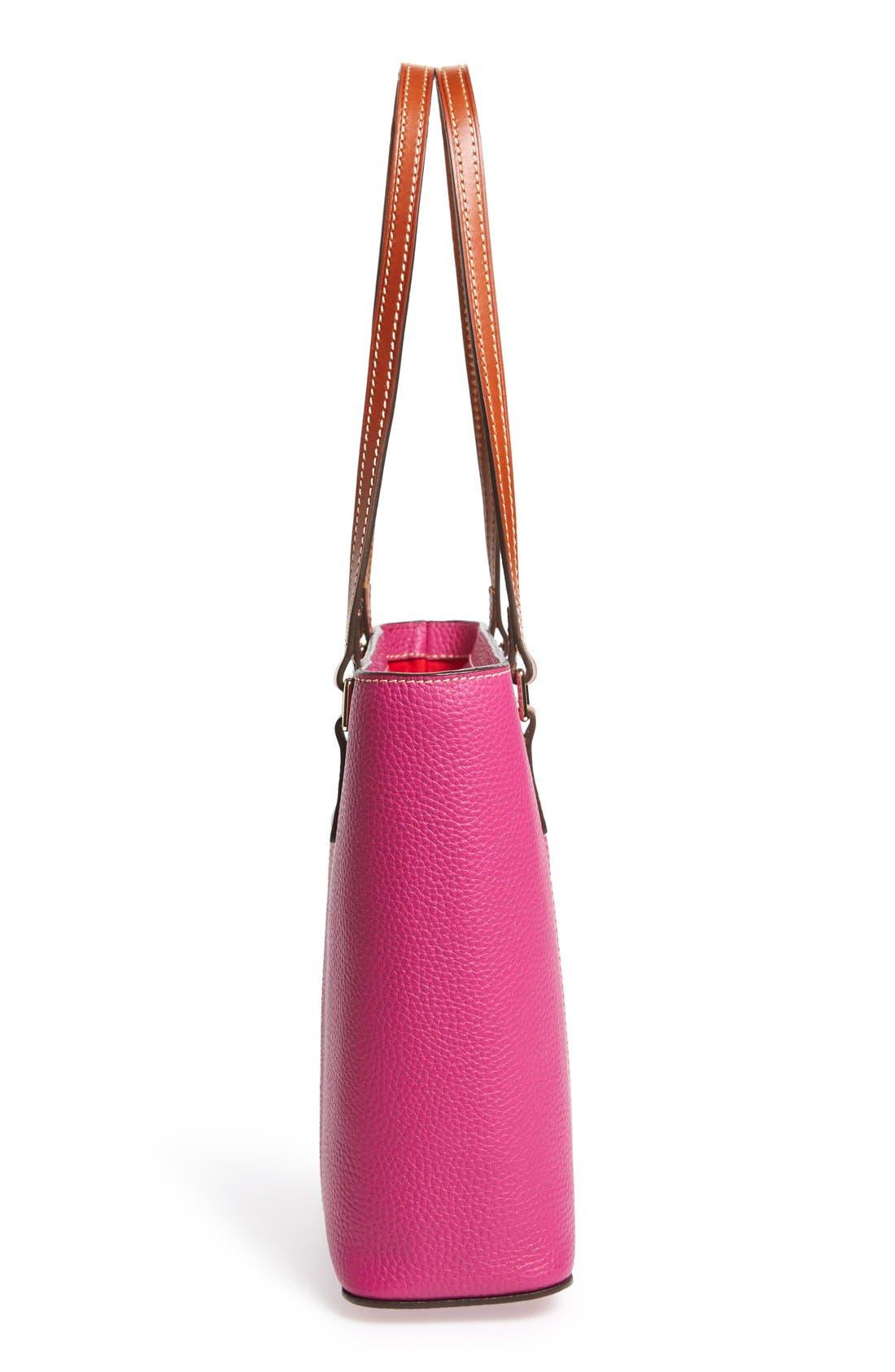 Alternate Image 5  - Dooney & Bourke 'Small Lexington - Pebble Grain Collection' Water Resistant Leather Shopper