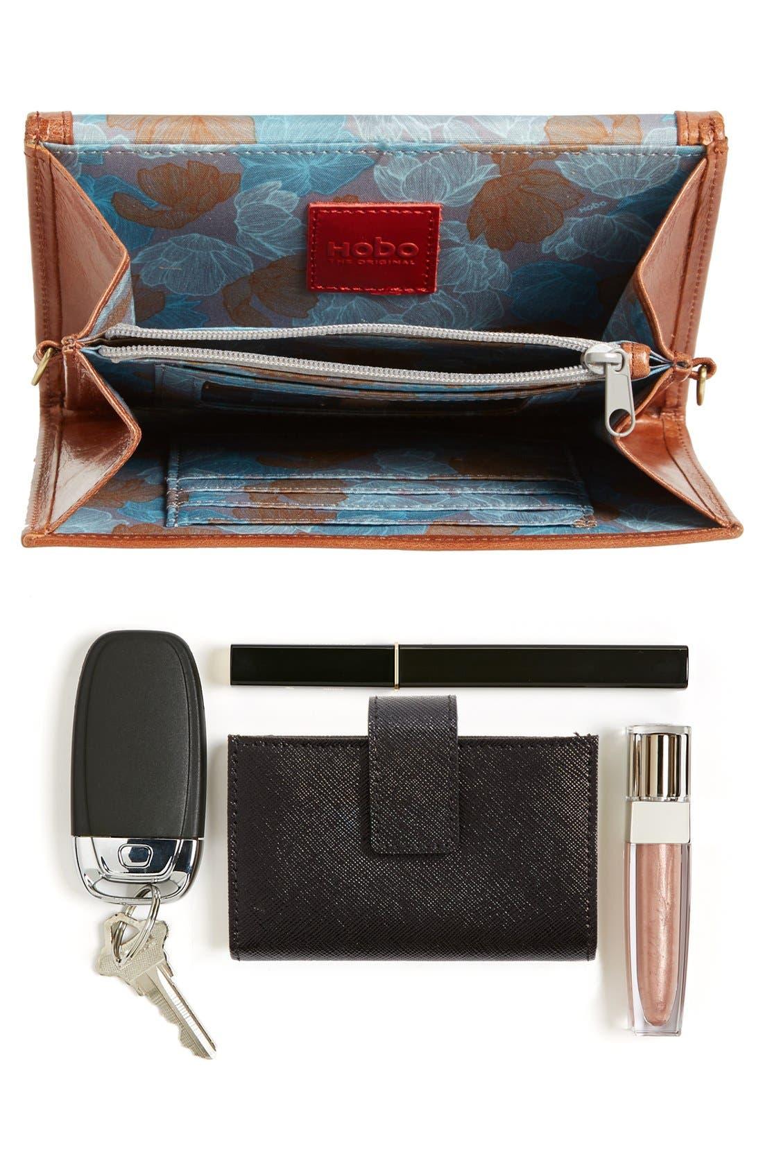 Alternate Image 8  - Hobo 'Maisy' Glazed Leather Fringe Crossbody Bag