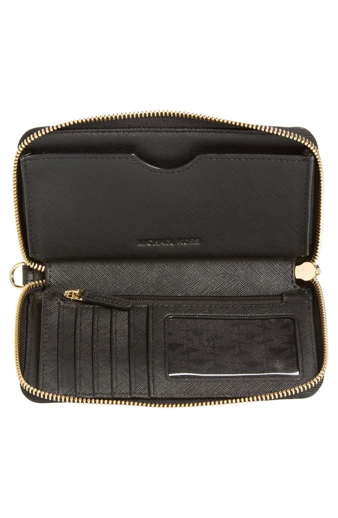 Alternate Image 4  - MICHAEL Michael Kors 'Jet Set Travel' Multifunction Phone Case