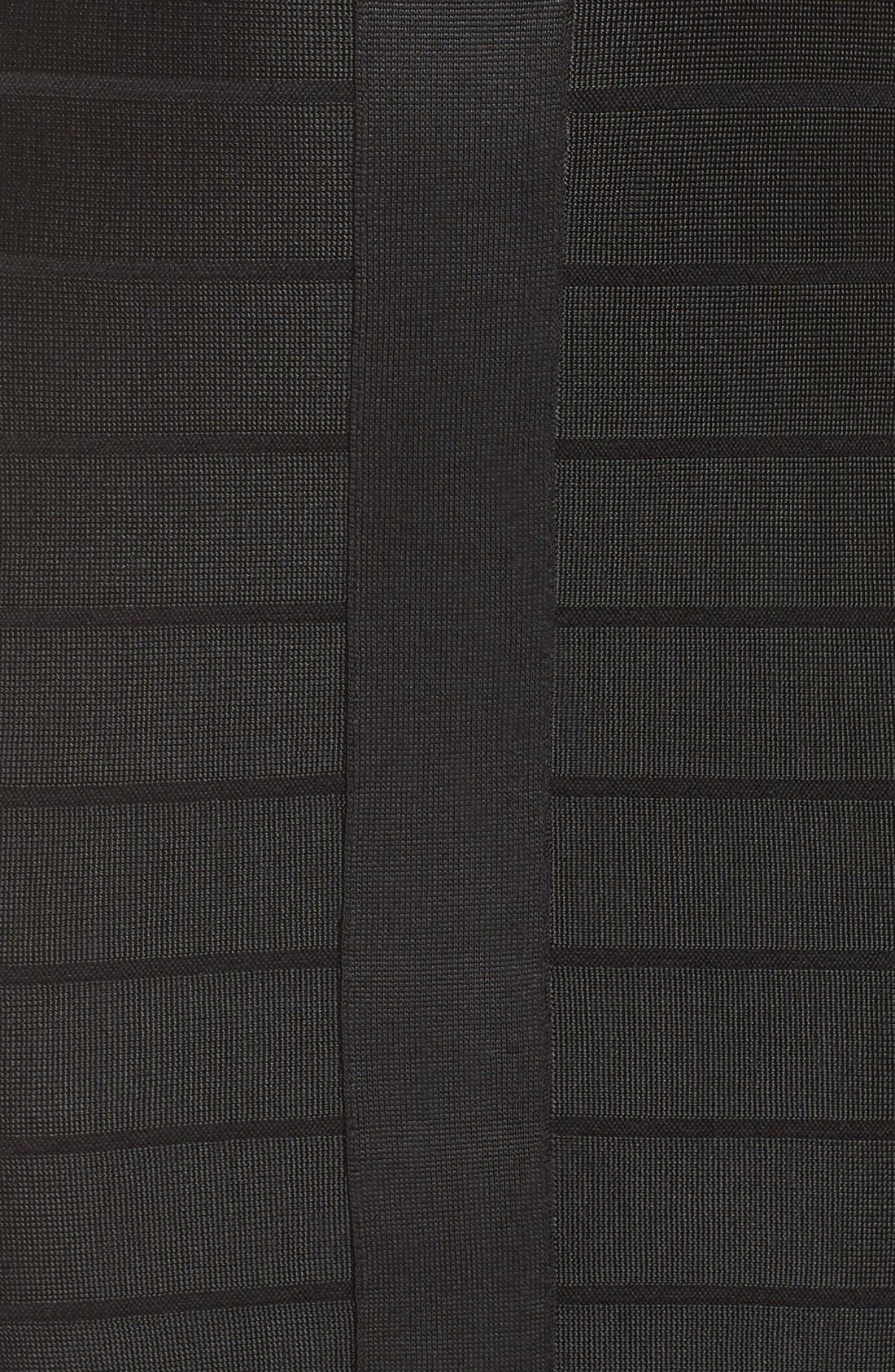 Alternate Image 5  - French Connection 'Miami Spotlight' Cap Sleeve Bandage Dress