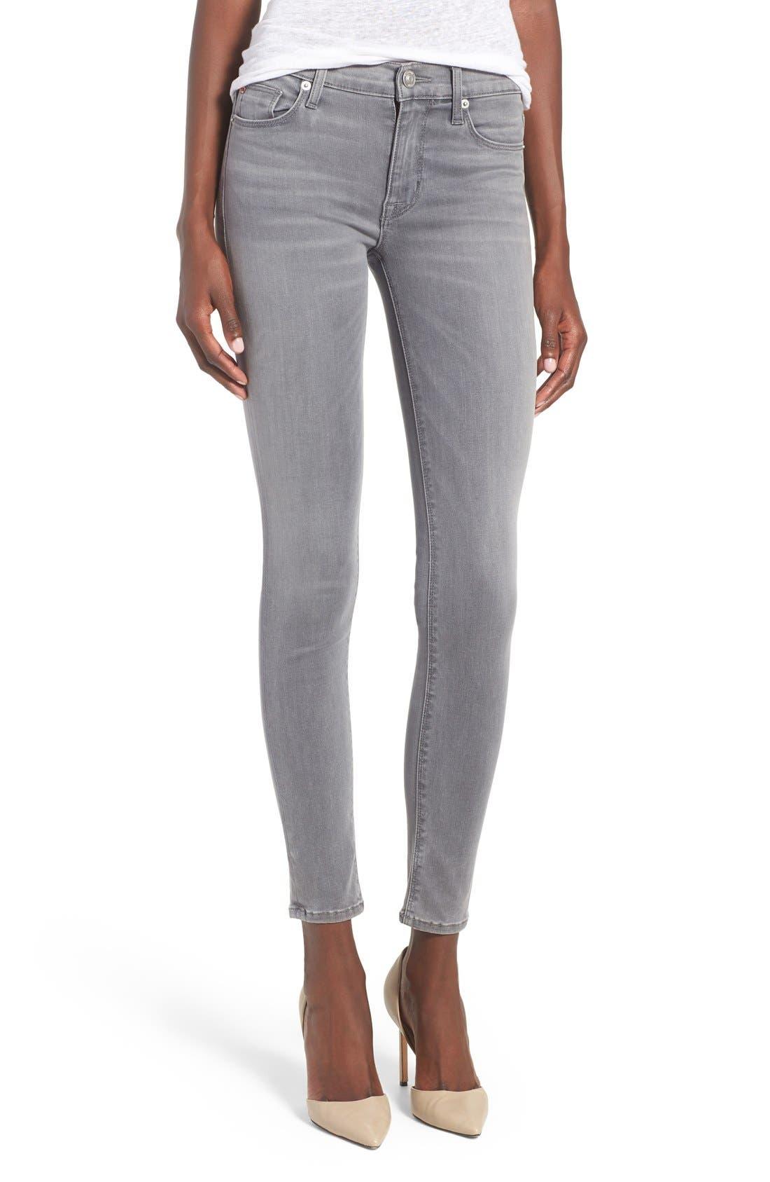 'Nico' Super Skinny Jeans,                             Main thumbnail 1, color,                             Spark Plug