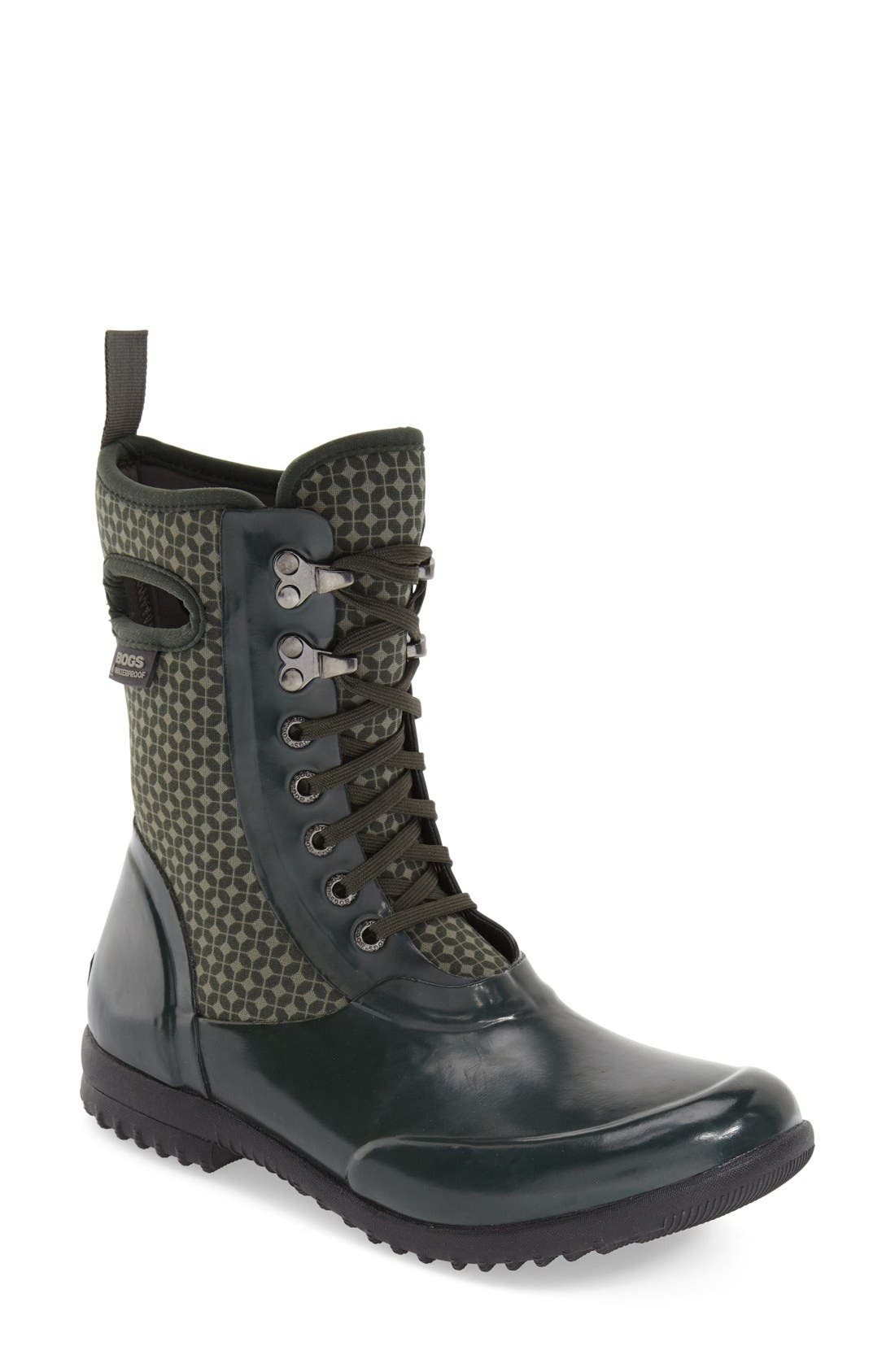 Main Image - Bogs 'Sidney Cravat' Lace-Up Waterproof Boot (Women)