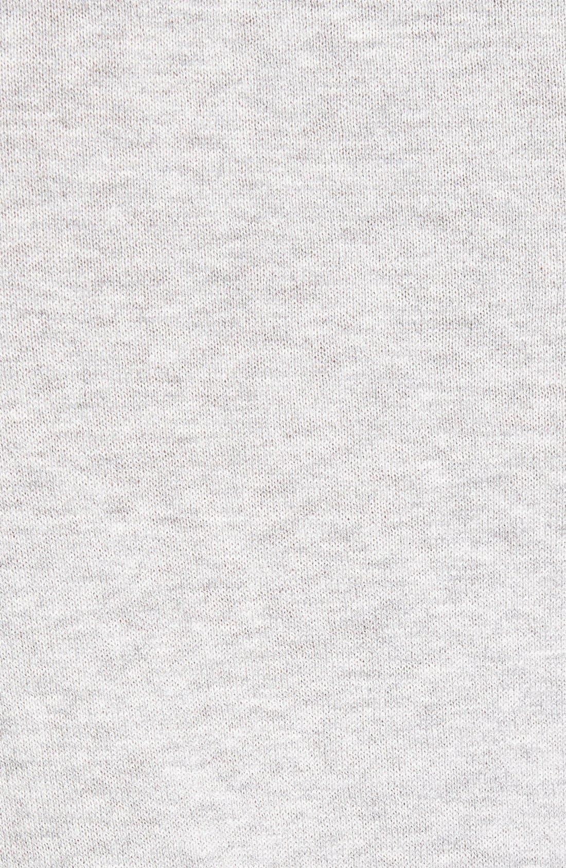 Brit Richmond Cotton & Cashmere Sweater,                             Alternate thumbnail 5, color,                             Pale Grey Melange