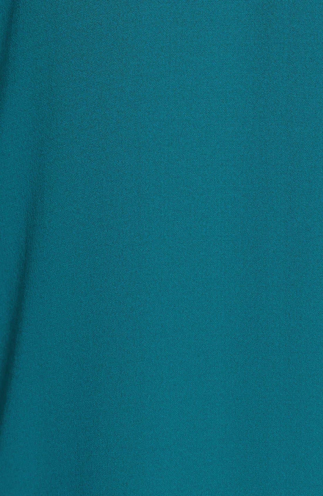 Alternate Image 5  - Eileen Fisher Silk V-Neck Shift Dress (Regular & Petite)