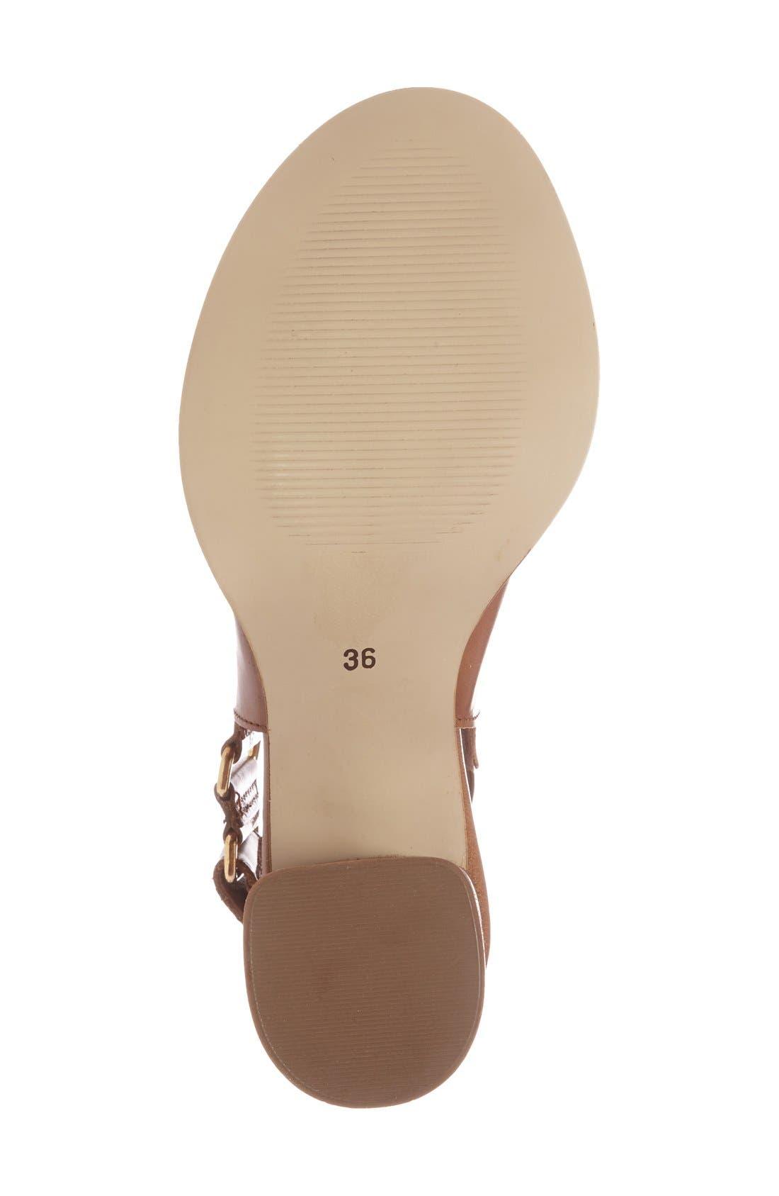 Alternate Image 4  - Topshop 'Nimi' Slingback Round Heel Sandal (Women)