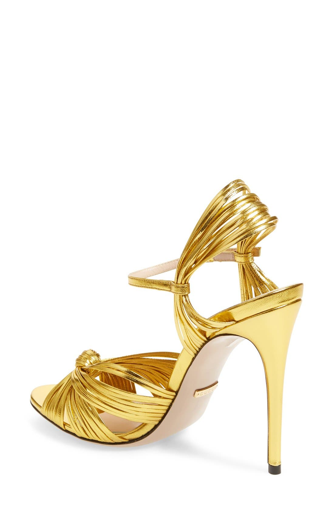 Alternate Image 2  - Gucci 'Allie' Peep Toe Pump (Women)