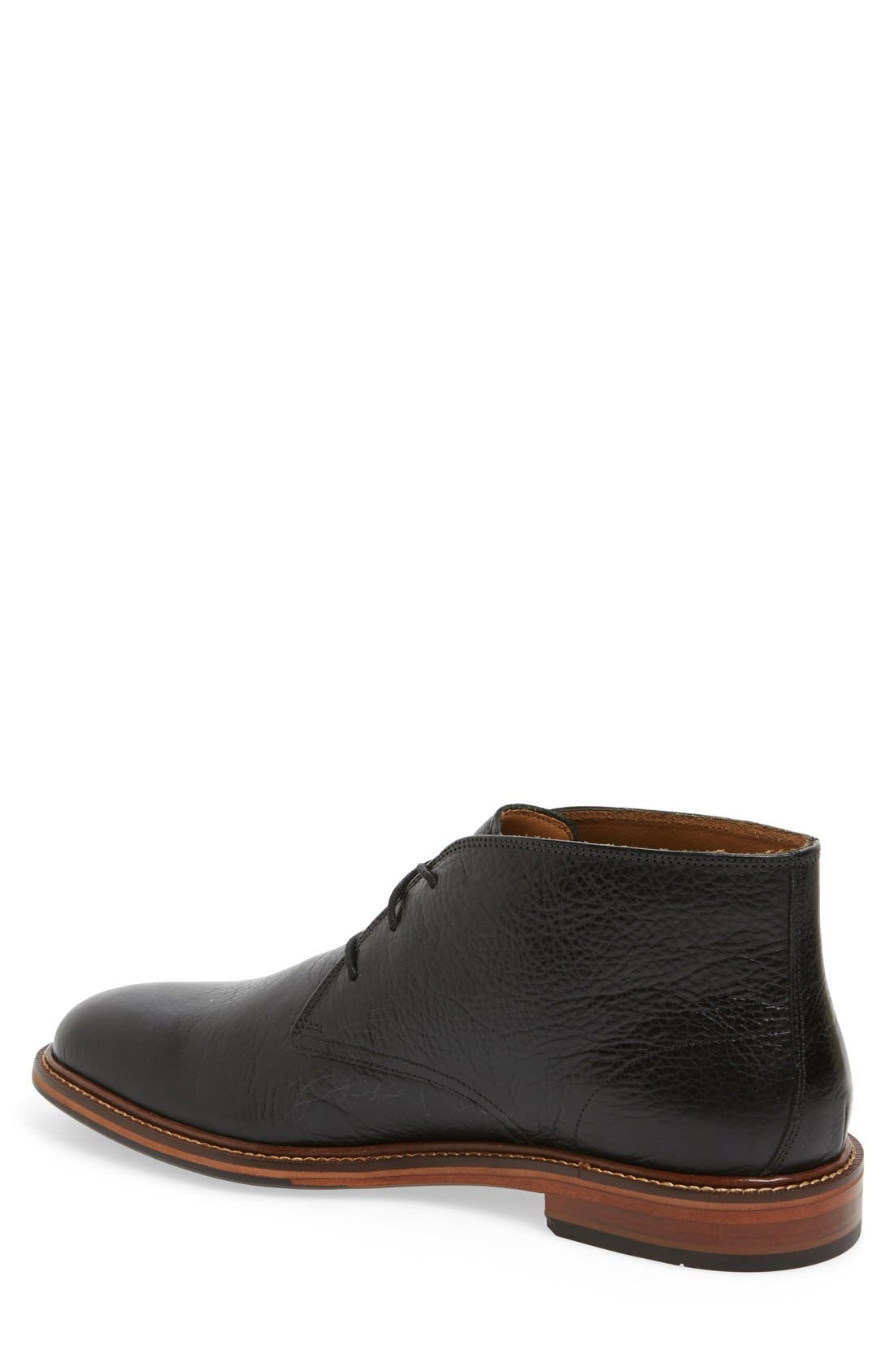 'Barron' Chukka Boot,                             Alternate thumbnail 2, color,                             Black