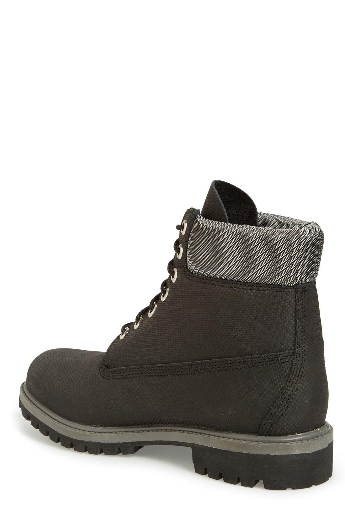 Alternate Image 2  - Timberland 'Premium' Waterproof Plain Toe Boot (Men)
