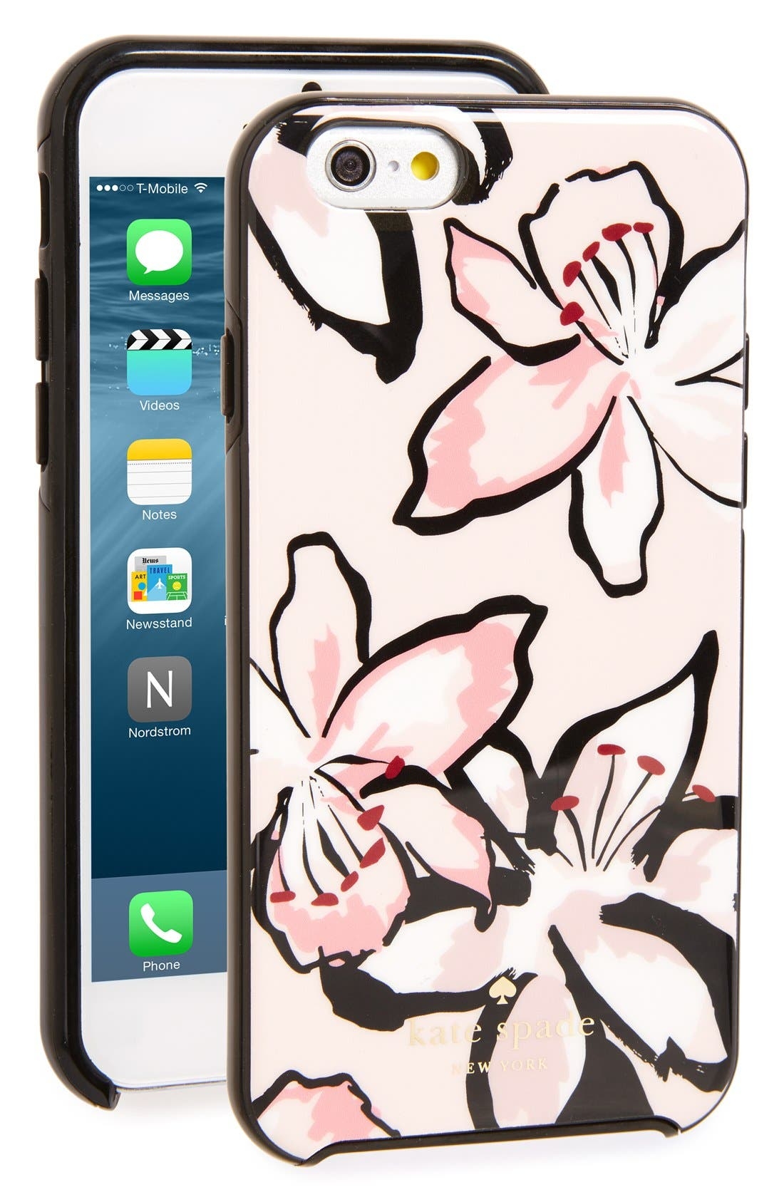 Main Image - kate spade new york tiger lily iPhone 6/6s case
