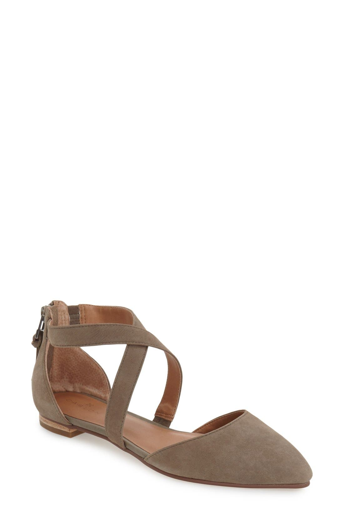 Alternate Image 1 Selected - Caslon® 'Aubry' Pointy Toe Flat (Women)