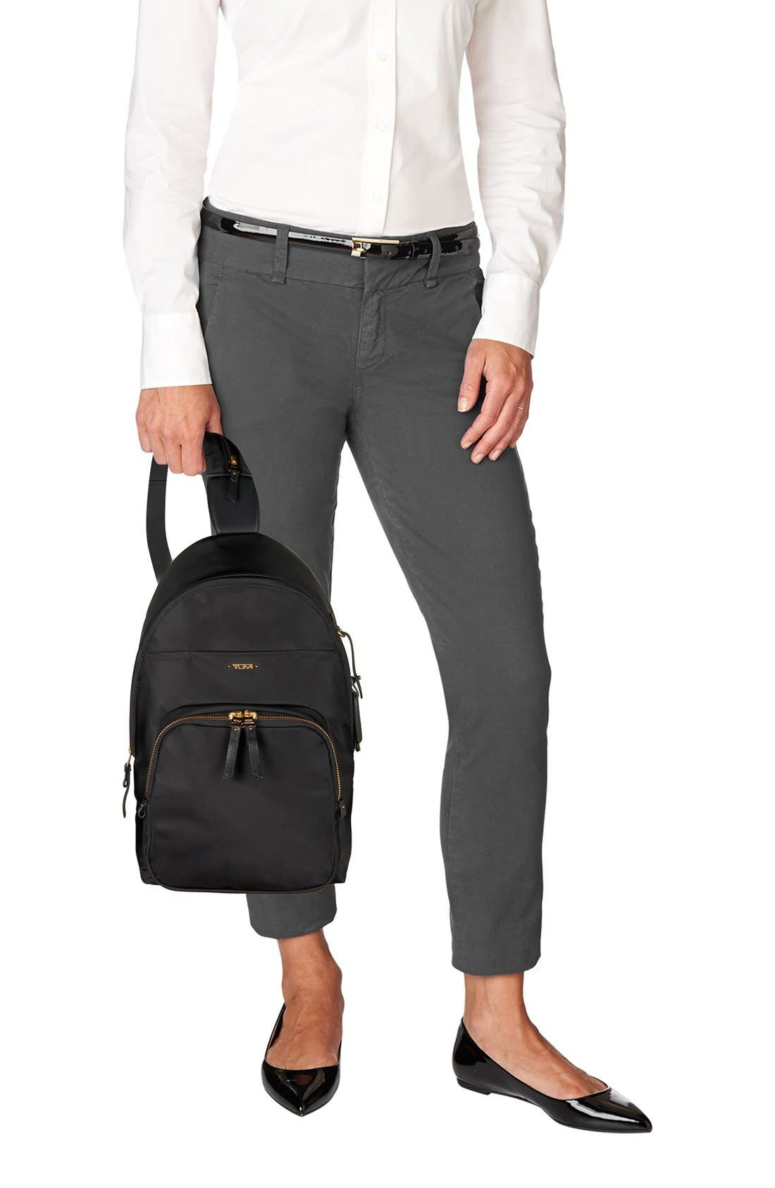 Nadia Convertible Backpack,                             Alternate thumbnail 2, color,                             Black