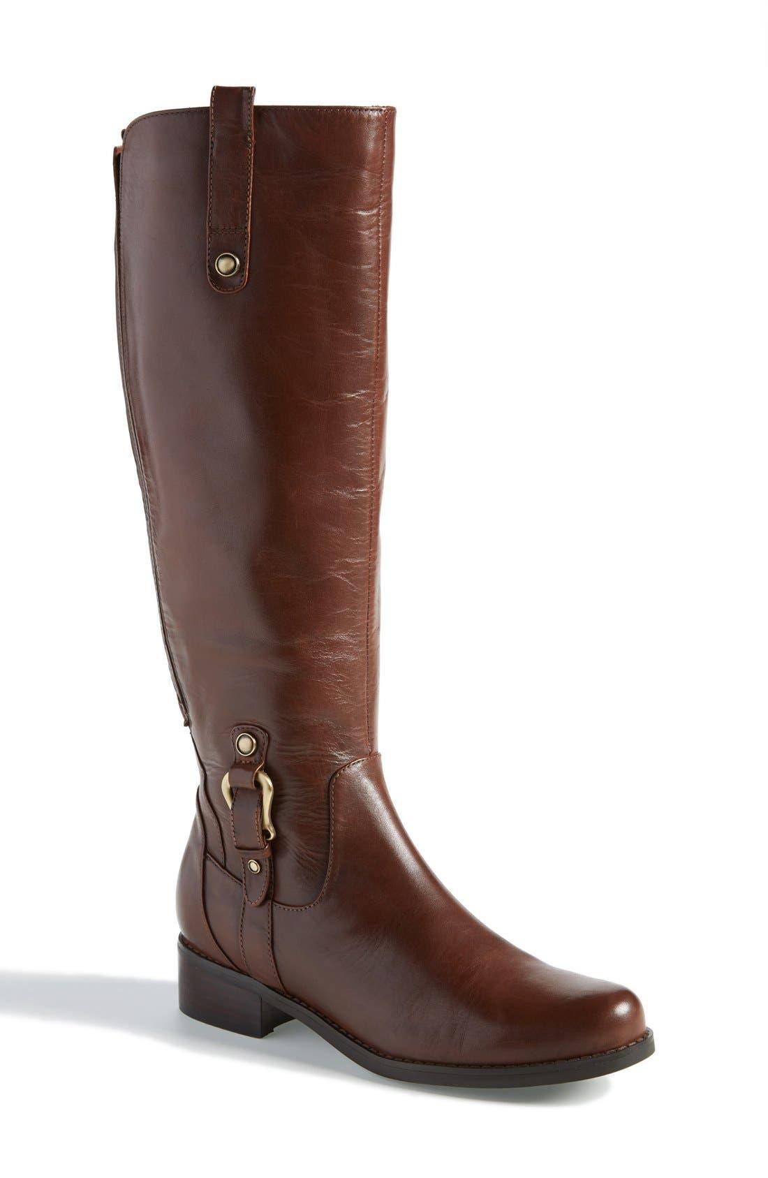 Main Image - Blondo 'Venise' Waterproof Leather Riding Boot (Women)
