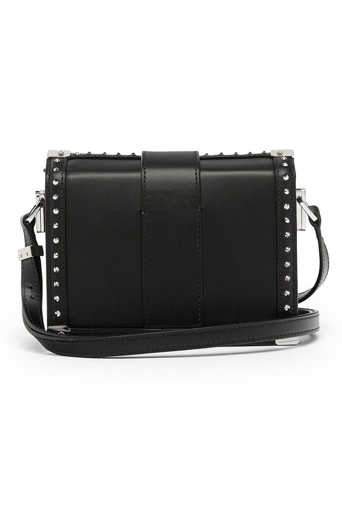 Alternate Image 2  - MCM 'Mini Mitte - Brocade' Embellished Leather Crossbody Bag