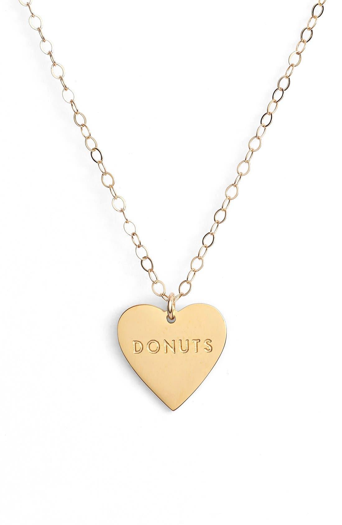 Main Image - Seoul Little 'Donuts' Charm Pendant Necklace