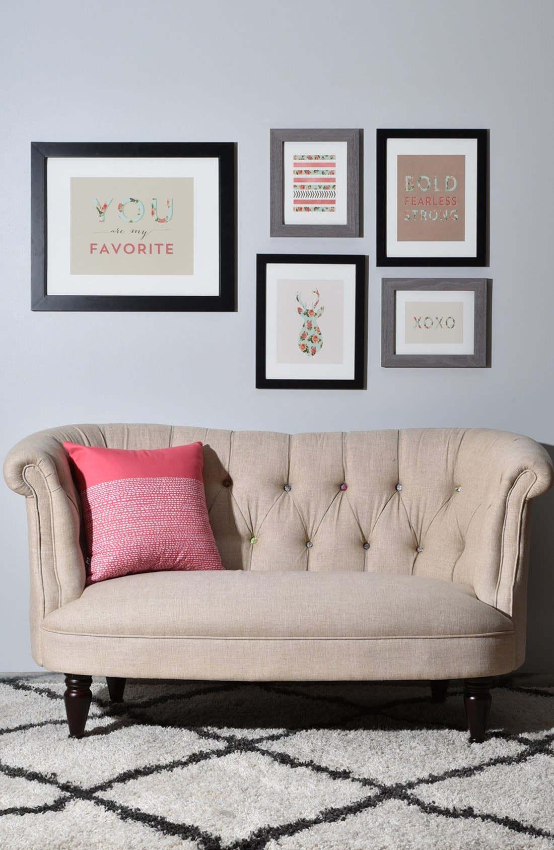 'You Are My Fave' Wall Art Gallery,                             Alternate thumbnail 2, color,                             White