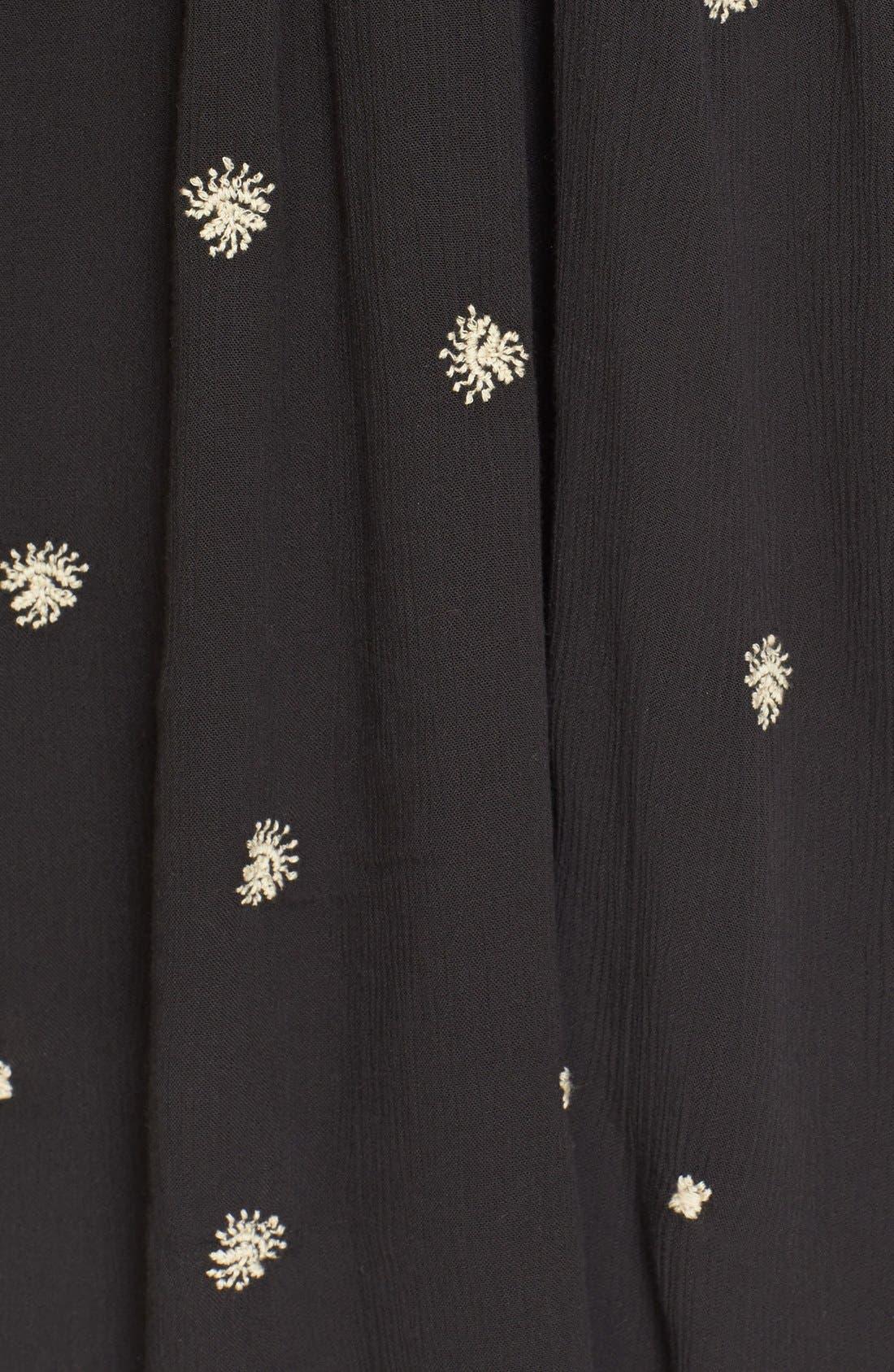 Alternate Image 5  - Free People 'Sweet Tennessee' Embroidered Minidress