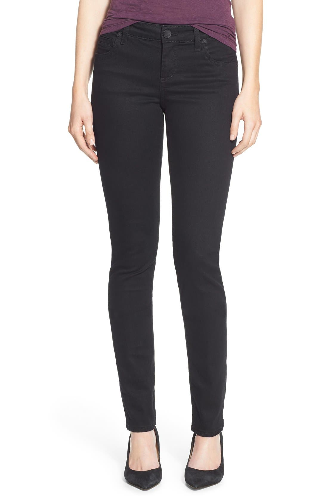 Alternate Image 1 Selected - KUT from the Kloth 'Diana' Stretch Skinny Jeans (Regular & Petite)