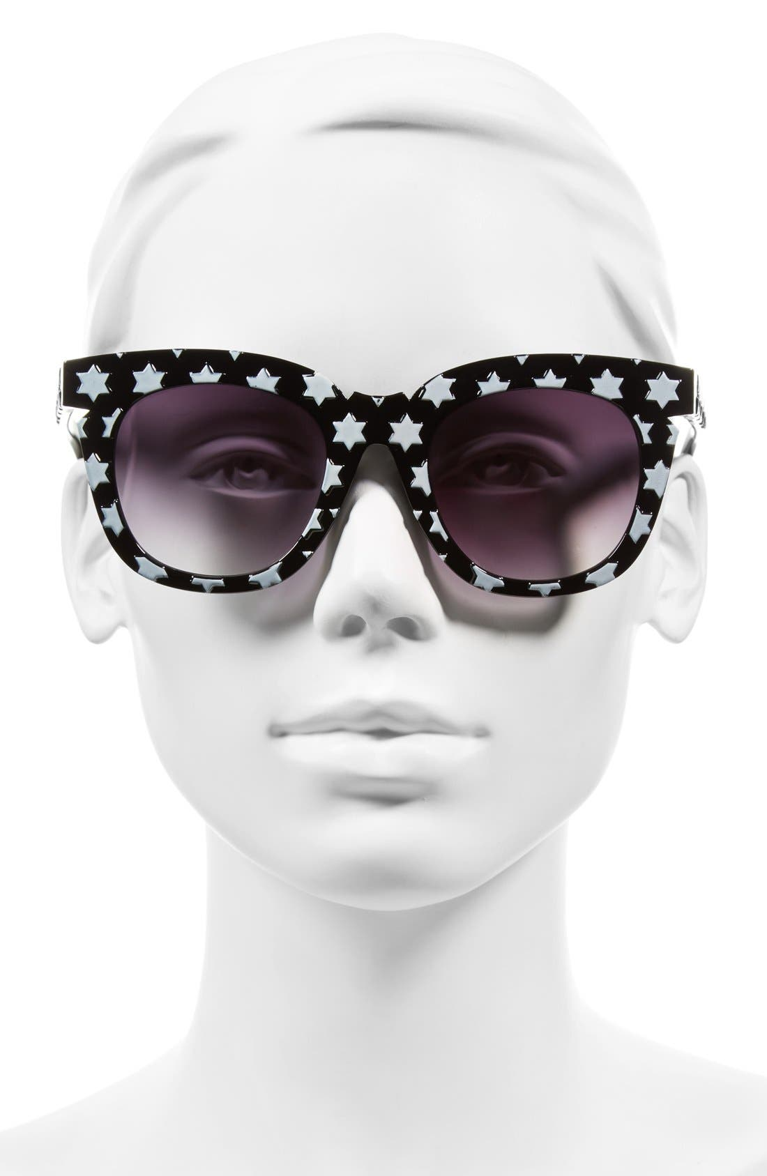 Alternate Image 2  - A.J. Morgan 'Stars' 50mm Retro Sunglasses