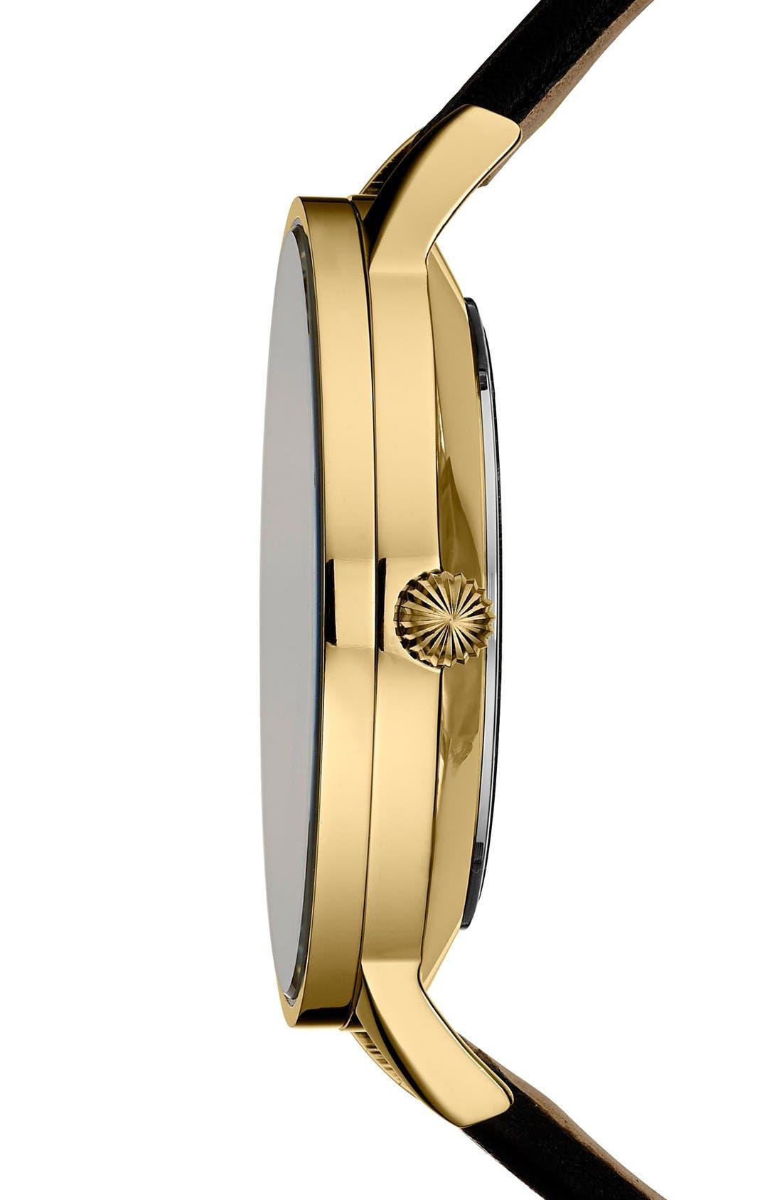 Alternate Image 3  - Ted Baker London 'Dress Sport' Multifunction Leather Strap Watch, 40mm