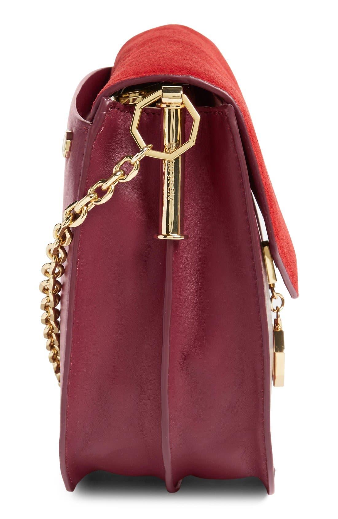 Alternate Image 5  - Louise et Cie 'Jael' Suede & Leather Shoulder Bag