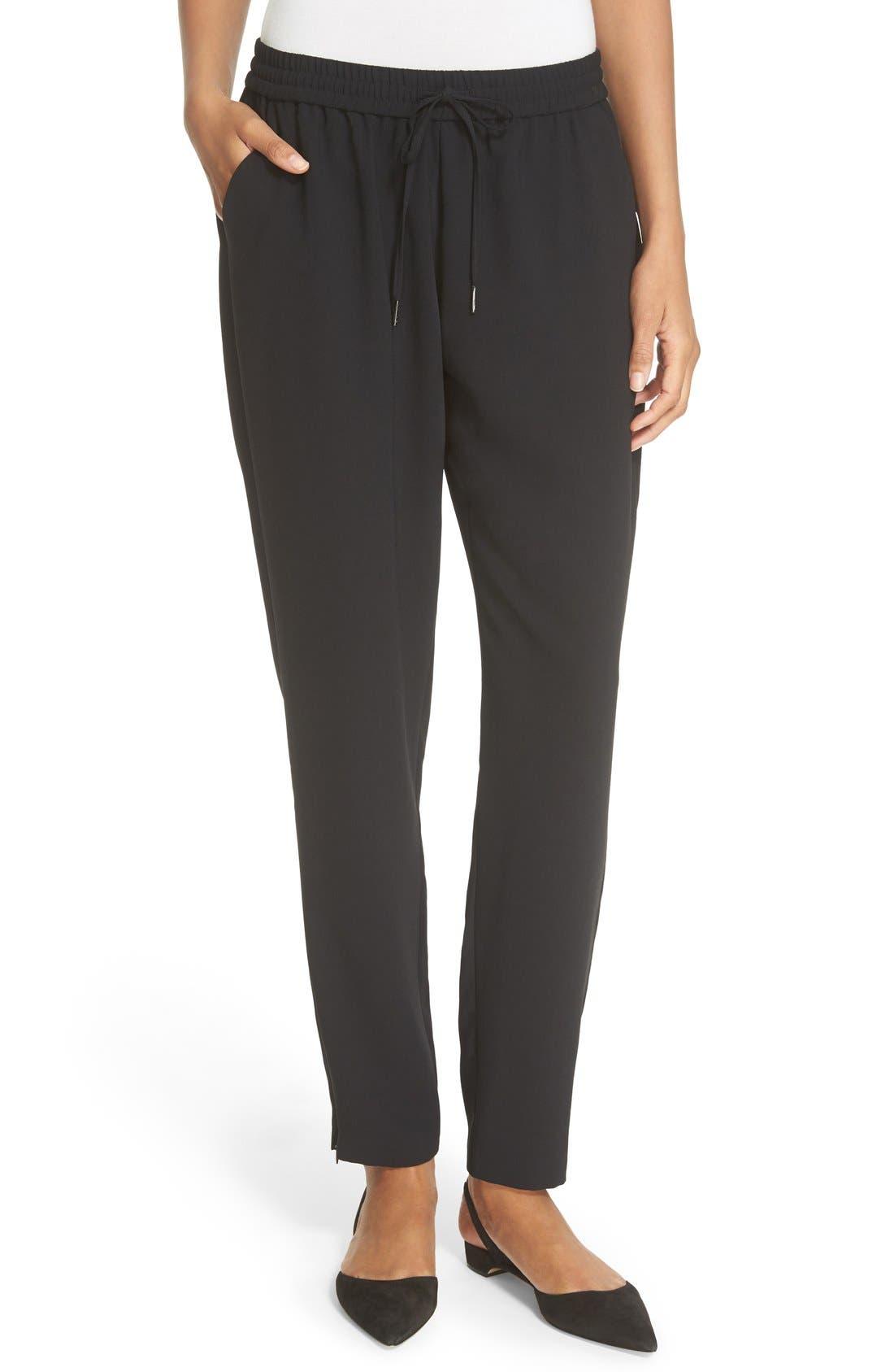 Alternate Image 1 Selected - Joie 'Janeene' Zip Ankle Drawstring Pants