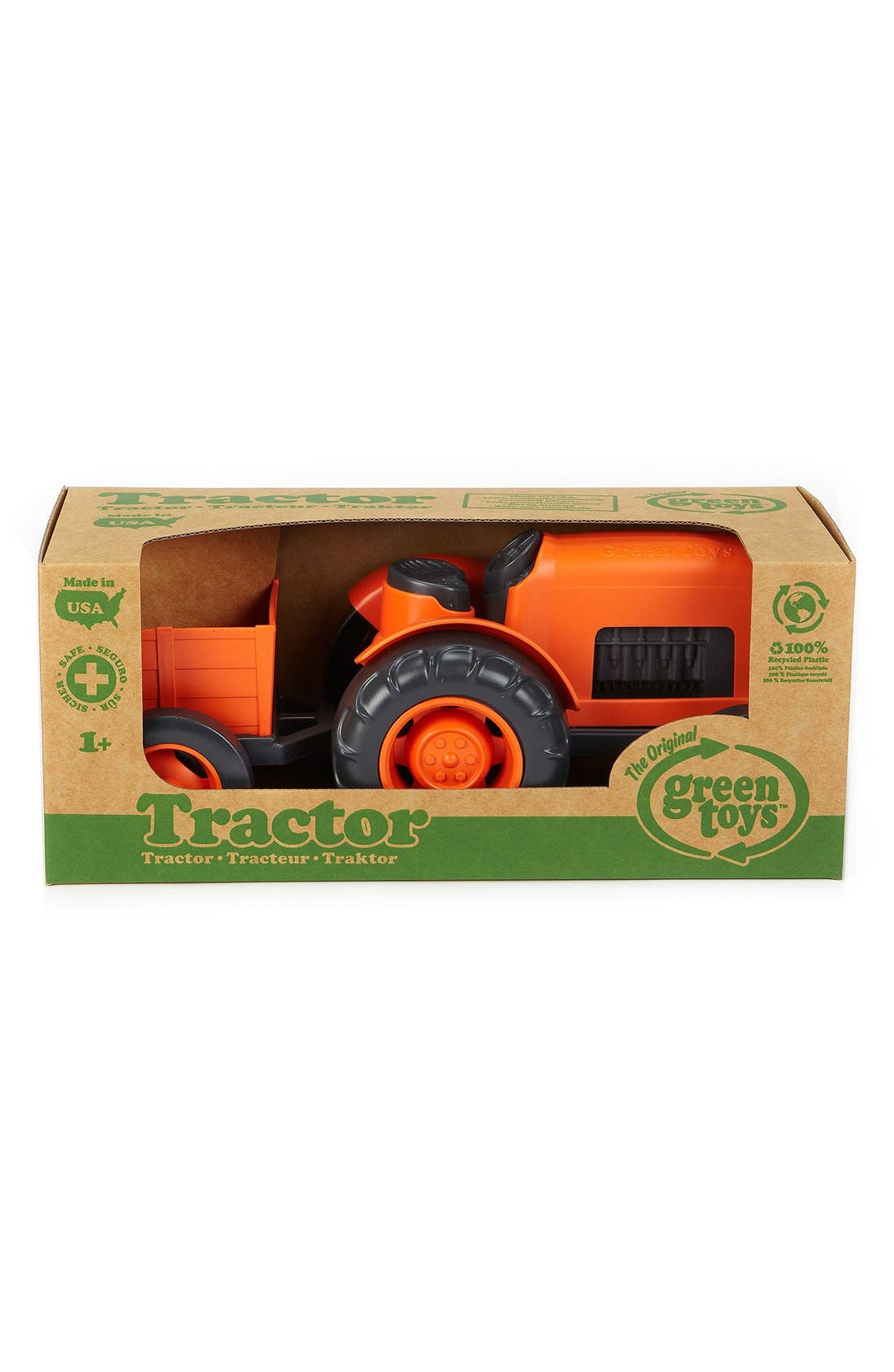 Alternate Image 2  - Green Toys Toy Tractor Set