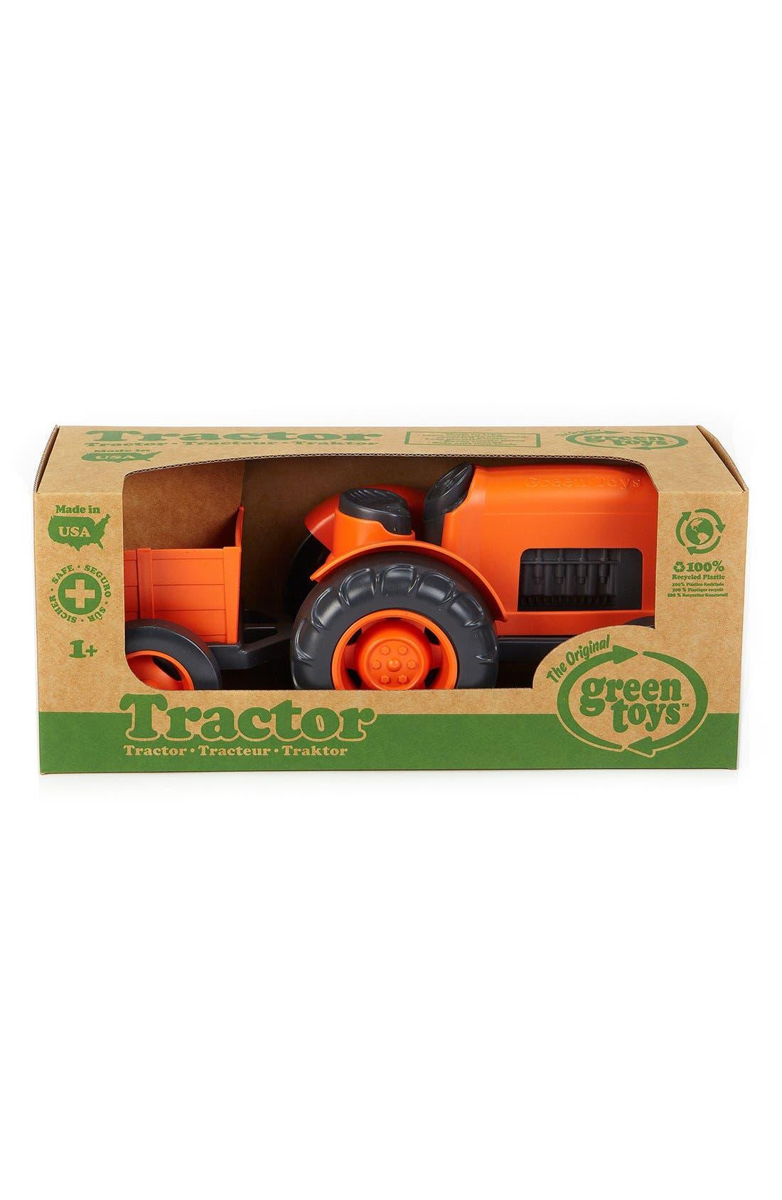 Toy Tractor Set,                             Alternate thumbnail 2, color,                             Orange