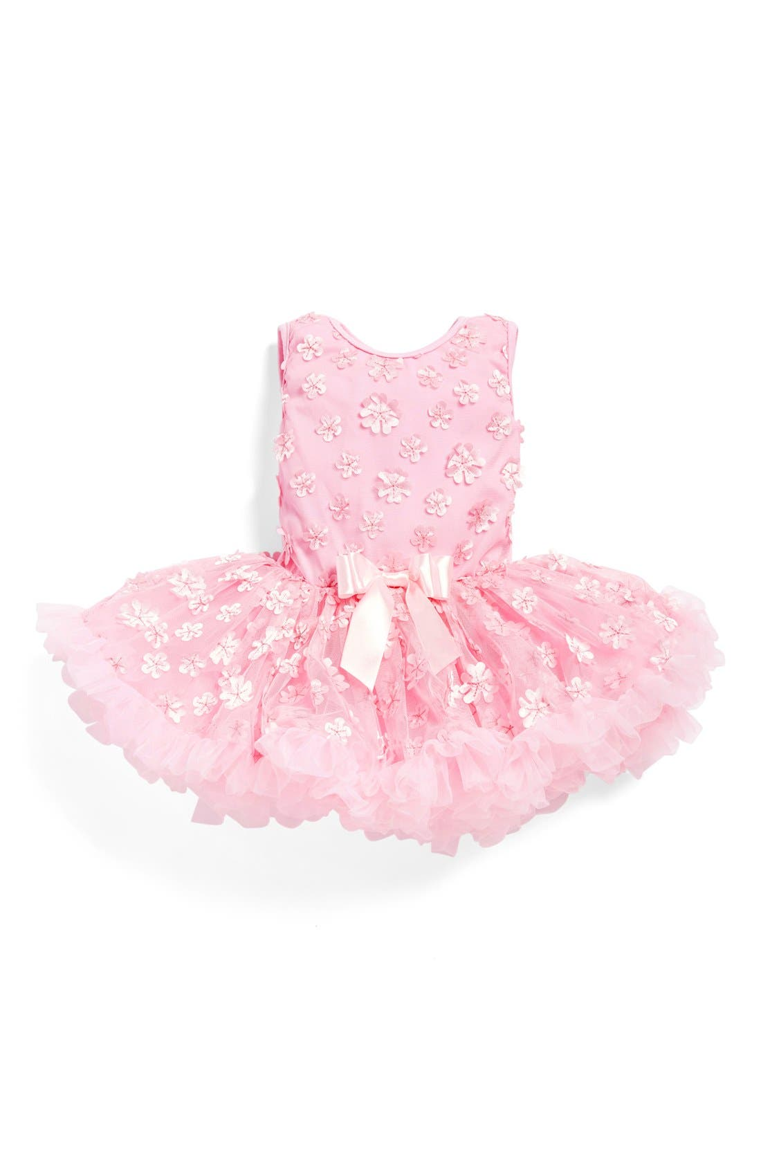 Main Image - Popatu 'Mini Flower' Pettidress (Baby Girls)