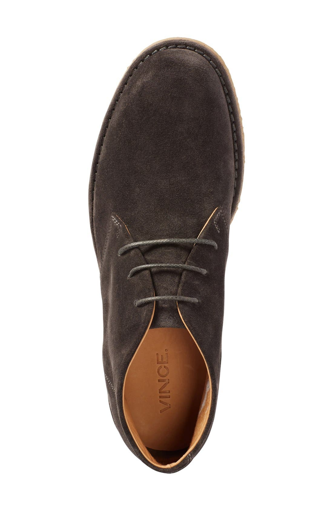 'Scott' Chukka Boot,                             Alternate thumbnail 3, color,                             Graphite Suede